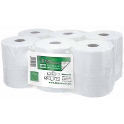 Ręczniki w roli Linea celulozowe maxi, biały 100% celulozy
