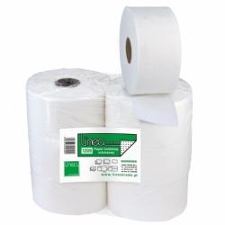 Papier toaletowy Linea Jumbo biały, 120m, średnica 18,5cm