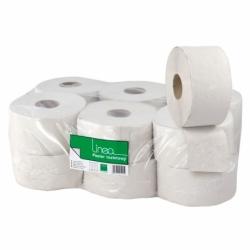 Papier toaletowy Linea Jumbo szary, 1 warstwowy, 120m, średnica 18,5cm