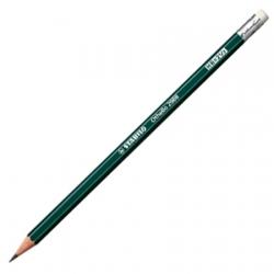 Ołówek Stabilo Othello 2B z gumką