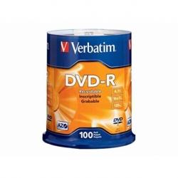 Płyta DVD R Verbatim AZO matt silver cake box 100 szt.