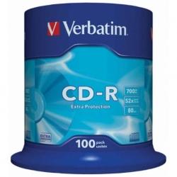 Płyta CD-R Verbatim Extra Protection cake box 100 szt.