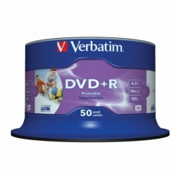 Płyta DVD R Verbatim AZO Printable Wide cake box 25 szt.