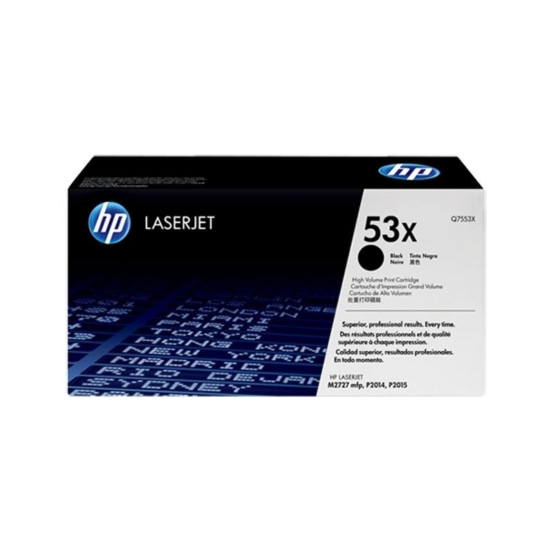 Toner HP Q7553X czarny
