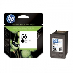 Tusz HP C6656AE czarny