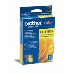 Tusz Brother LC1100Y yellow