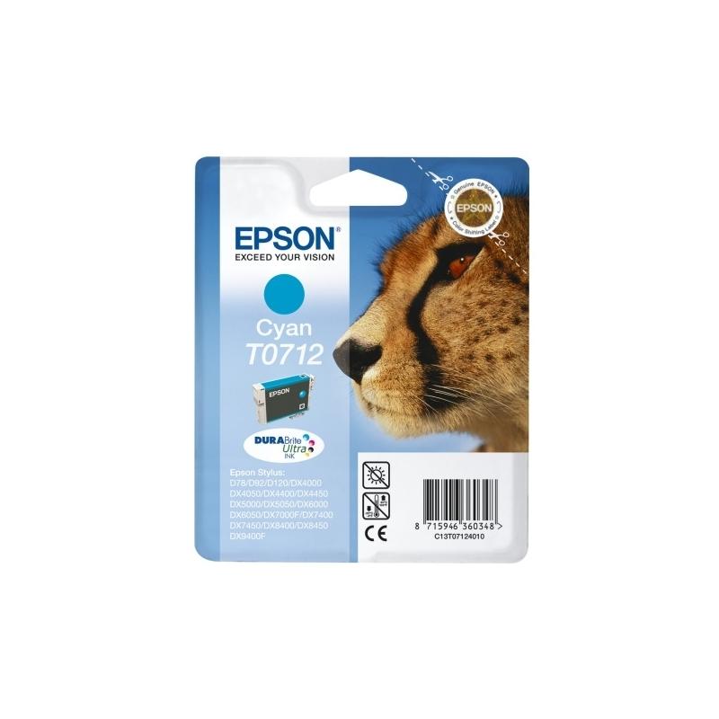 Tusz Epson T0712 cyan