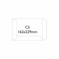 Koperty samoklejące SK C5, 162 x 229 mm biały, 50 szt.