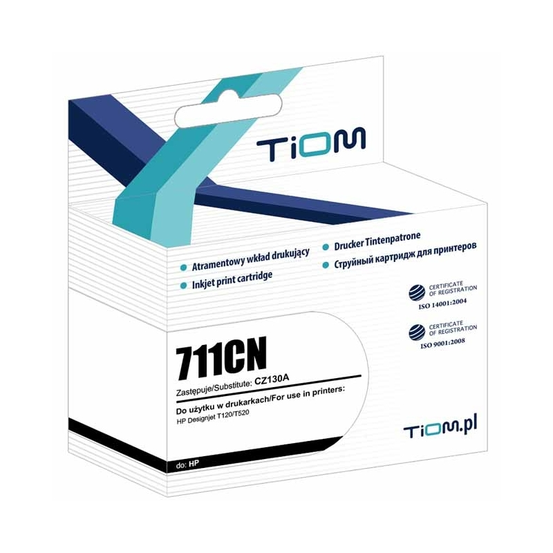 Tusz Tiom HP 950 711C CZ130A