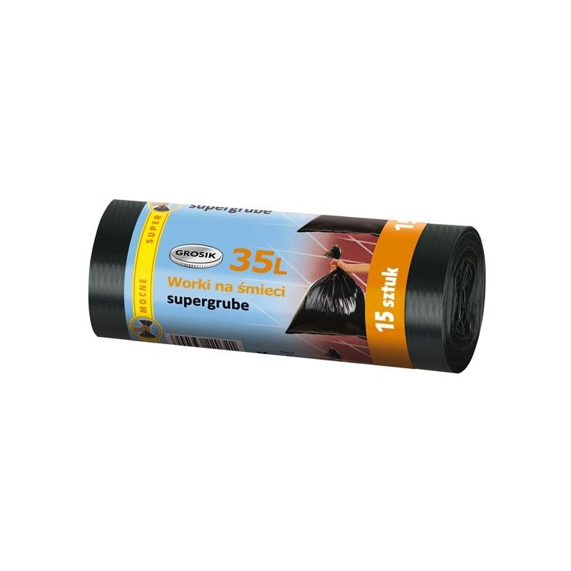 Worki na śmieci LD Grosik 60 L, 10 szt