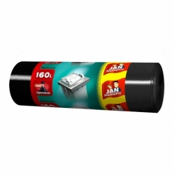 Worki na śmieci LD JN 160 L, 20 szt. czarne
