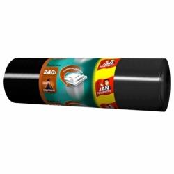 Worki na śmieci LD JN 240 L, 10 szt. czarne