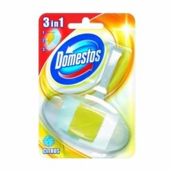 Kostka toaletowa Domestos 3w1 koszyk z wkładem cytrynowym 40g