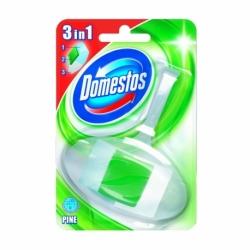 Kostka toaletowa Domestos 3w1 koszyk z wkładem leśnym 40g