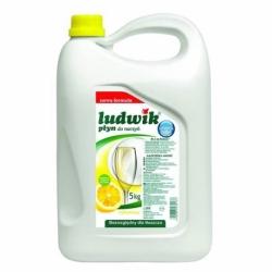 Płyn do mycia naczyń Ludwik 5 litrów cytrynowy