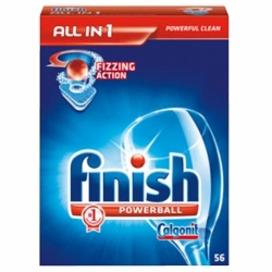 Finish tabletki do zmywarek All in 1, 56 szt.