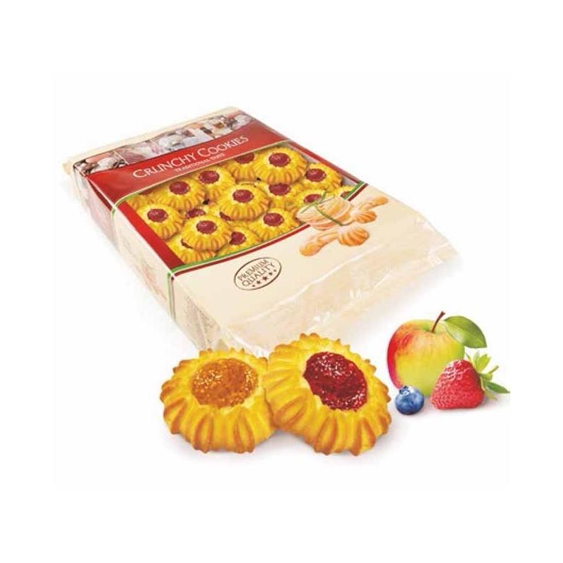 Ciasteczka kruche Bogutti słoneczka kruche z marmoladą 1 kg