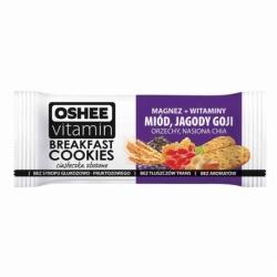 Ciasteczka zbożowe OSHEE Vitamin 50g, miód / jagody Goi / orzechy / nasiona CHIA