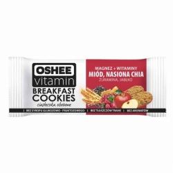 Ciasteczka zbożowe OSHEE Vitamin 50g, miód / nasiona CHIA / żurawina / jabłko