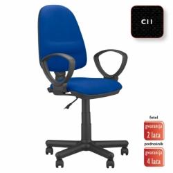 Krzesło obrotowe Perfect GTP splot czarny, CU-11
