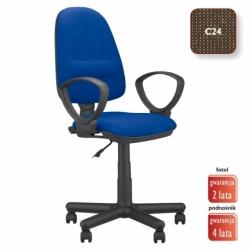 Krzesło obrotowe Perfect GTP splot brązowy, CU-24