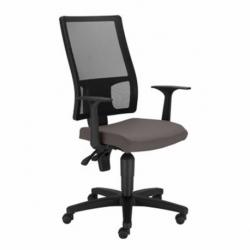 Krzesło TAKTIK oparcie czarne, siedzisko szare EF-031