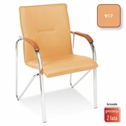 Krzesło konferencyjne Samba brzoskwinia, V-17