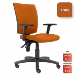 Krzesło obrotowe Metron pomarańczowe