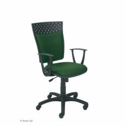 Krzesło STILLO tkanina OBAN pomarańczowa EF-808
