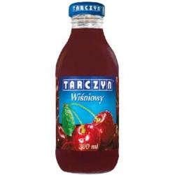 Sok Tarczyn 0,3 L zgrzewka 15szt wiśnia
