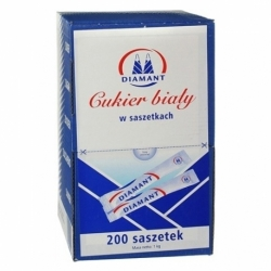 Cukier biały w saszetkach 100 x 5 g