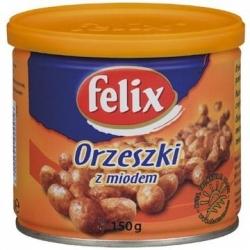Orzeszki ziemne Felix z miodem 150 g