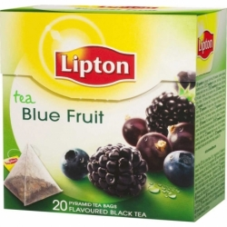 Herbata Lipton owocowa piramidka Blue Fruit 20 szt