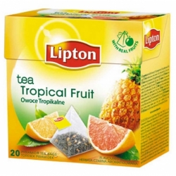 Herbata Lipton owocowa piramidka Tropical Fruit 20 szt