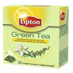 Herbata Lipton owocowa piramidka Green 20 szt