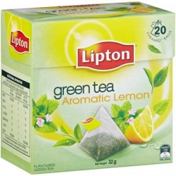 Herbata Lipton owocowa piramidka Green Lemon 20 szt