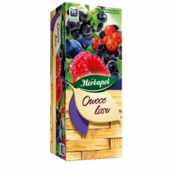 Herbata Herbapol owocowa owoce lasu 20 szt