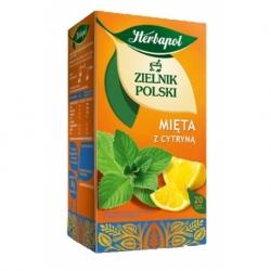 Herbata Herbapol owocowa cytryna z miętą 20 szt