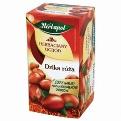 Herbata Herbapol owocowa Dzika Rテウナシa 20 szt