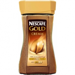 Kawa Nescafe Gold Crema 200g rozpuszczalna