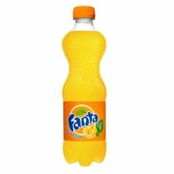 Napój Fanta pomarańczowa 0,5 L