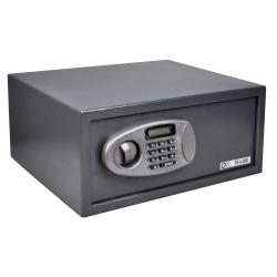 Metalowy sejf na zamek szyfrowy i klucz Opus Guard PS 4
