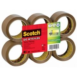 Taśma Pakowa brązowa mocna Scotch 371 3M