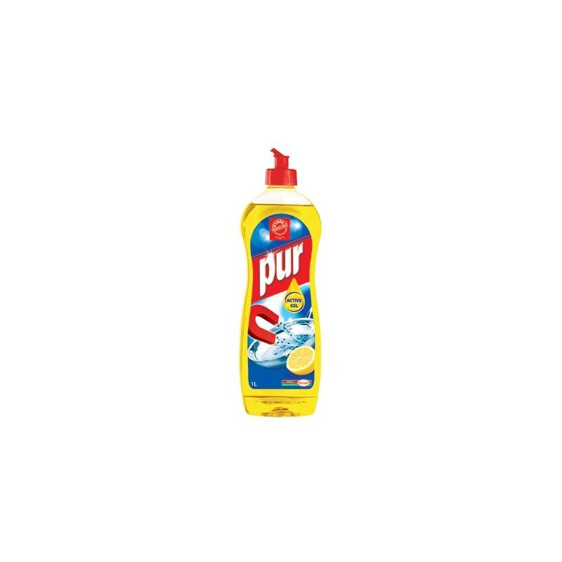 Płyn do mycia naczyń Pur cytrynowy, 900 ml