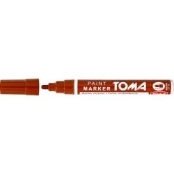 Marker olejowy TO-440 TOMA POMARAŃCZOWY