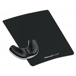 Podkładka pod mysz i nadgarstek Palm Health-V Fabric Czarna