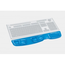 Podkładka przed klawiaturę Health-V Crystal Niebieska