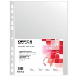 Koszulka groszkowa Office Products A4, 45 mic w folii, opak. 100 szt