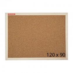 Tablica korkowa Memoboards w ramie drewnianej 120 x 90 cm