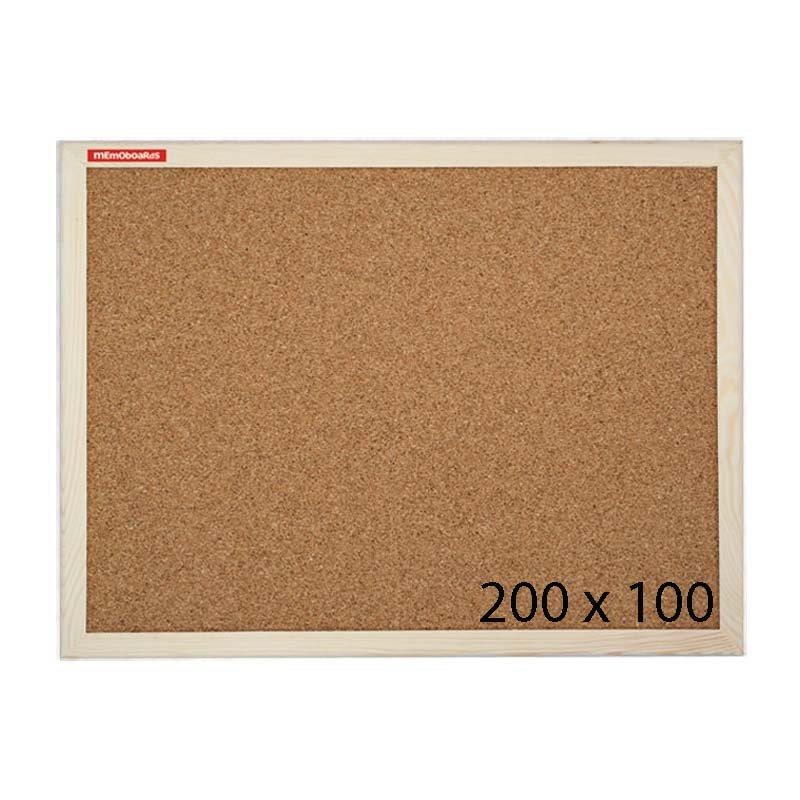 Tablica korkowa Memoboards 200 x 100 cm